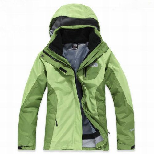 Womens The North Face Berkeley Hyvent Jacket Green