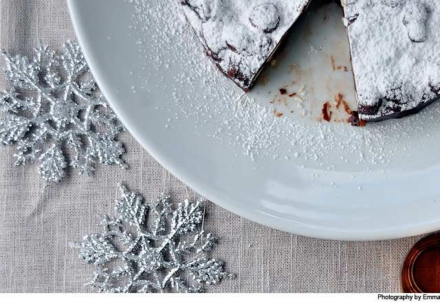 Panforte recipe from Fisher & Paykel Social Kitchen. A perfect Christmas recipe.