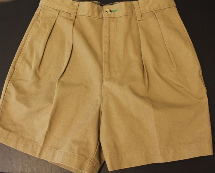 Tommy Hilfiger Classic Fit Mens Tradition Shorts sz 30 Khaki Brown #TommyHilfiger #CasualShorts