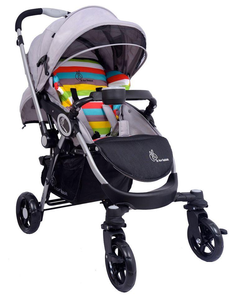 R for Rabbit Chocolate Ride - The Designer Pram (Rainbow)