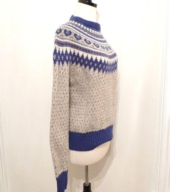 172 best Vintage Sweaters images on Pinterest   Vintage sweaters ...