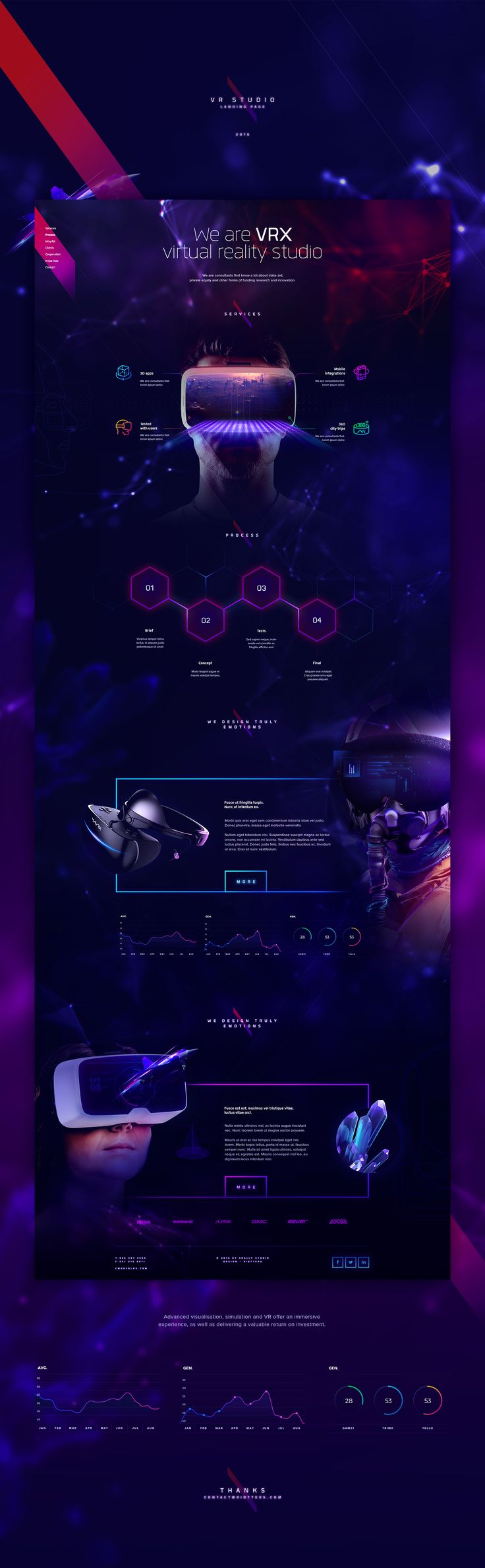 VRX Studio on Behance