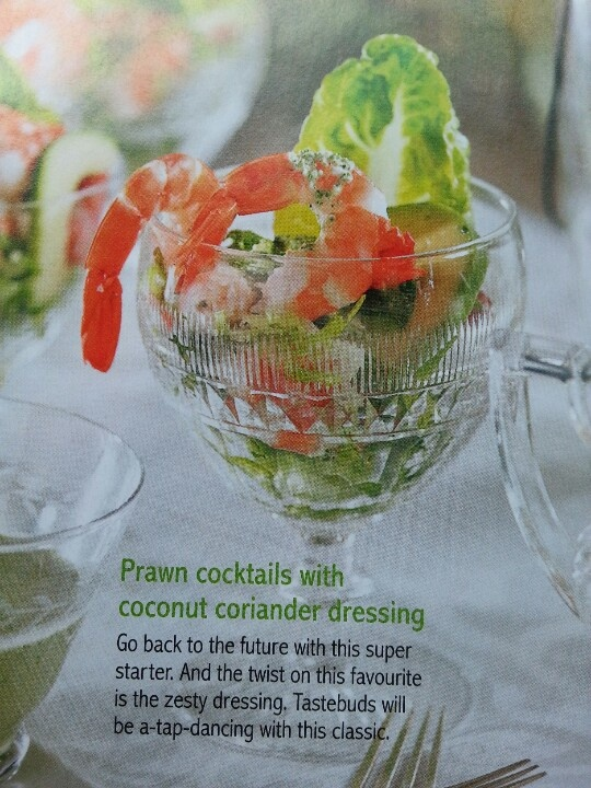 I know its old fashioned...but Ive always loved Prawn Cocktails