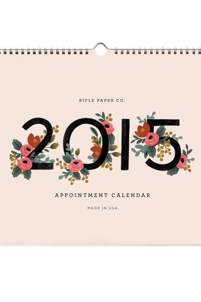 APPOINTMENT CALENDER - RIFLE PAPER