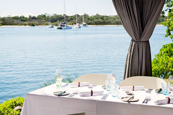 Ricky's Noosa River offers uninterrupted views, gorgeous sunsets and a stylish setting for a relaxed lunch or romantic dinner.