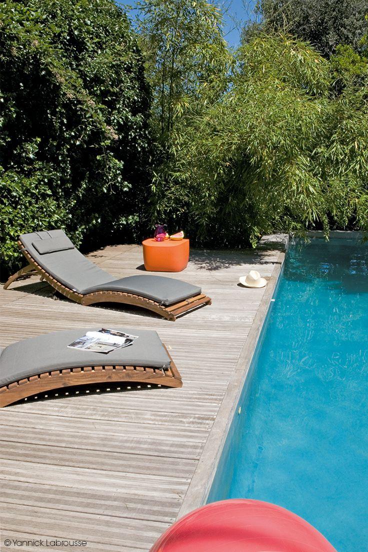 1000 images about jardin avec piscine on pinterest for Piscine avec solarium