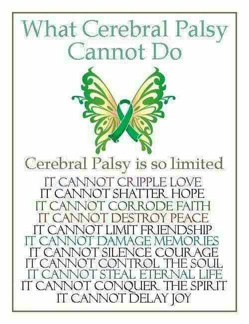 Cerebral Palsy Does Not Limit Everything