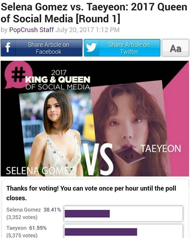 Vote for @selenagomez  Link in Bio  Vota por #SelenaGomez Enlace en nuestra Biografía  #Selena #Selenator #Selenators #Fans