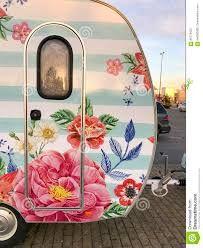 Image result for floral caravan