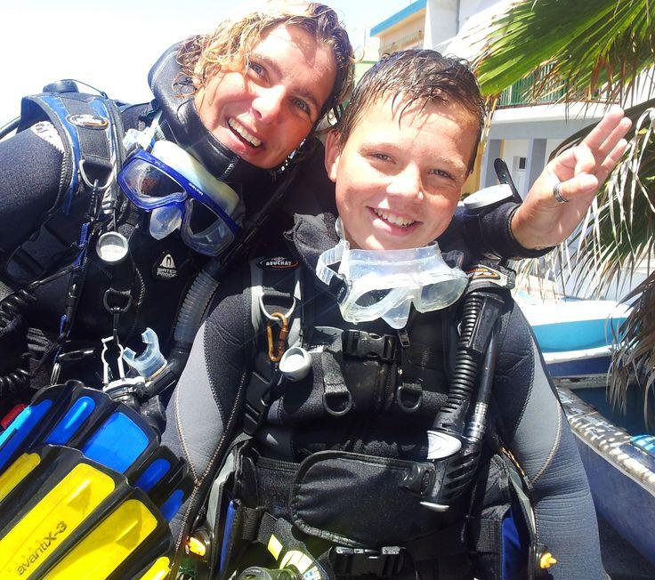 Introductieduiken op La Palma #duiken #lapalma #palma #scuba #diving