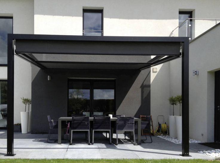 Pergola Roof Ideas Modern Easy Self Outdoor Pergolas Supporting Aluminium Fabric Sliding Design Backyard Construction Metal And