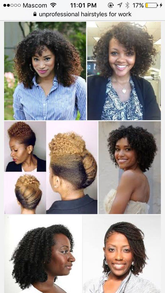 """""""I saw a tweet saying """"Google unprofessional hairstyles for work"""". I did. Then I checked the 'professional' ones 🙃🙃🙃"""""""