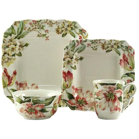 222 fifth ellis 16 piece dinnerware set 2h522 for 222 fifth dinnerware