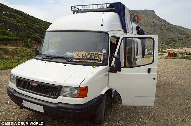 White van man goes worldwide! Adventurer quits his job, turns £2,500 vehicle into 'studio apartment' and travels 10,000 miles around the world