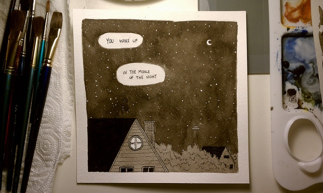 In The Middle Of The Night by Phil McAndrew, via Flickr