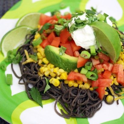 Mexican Black Bean Spaghetti (Gluten-free, Grain-free, Vegetarian) | Tasty Kitchen: A Happy Recipe Community!