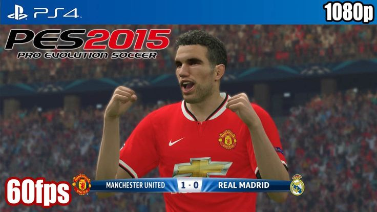 http://www.heysport.biz/ PES 2015 (PS4) - Manchester United vs Real Madrid (60fps) [1080p] TRUE-H...