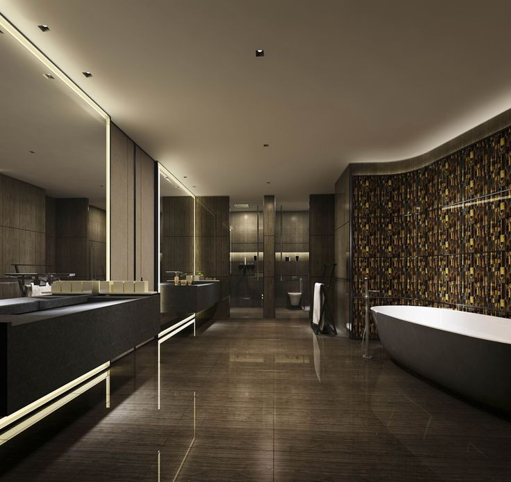 Lighting Design In Bathroom