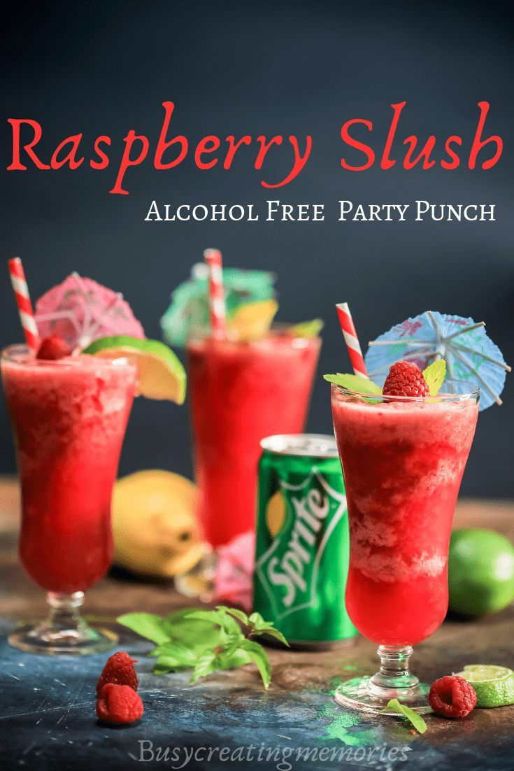 Tropical Raspberry Luscious Slush Punch   – All Things Winter: Holidays, Christmas, New Years