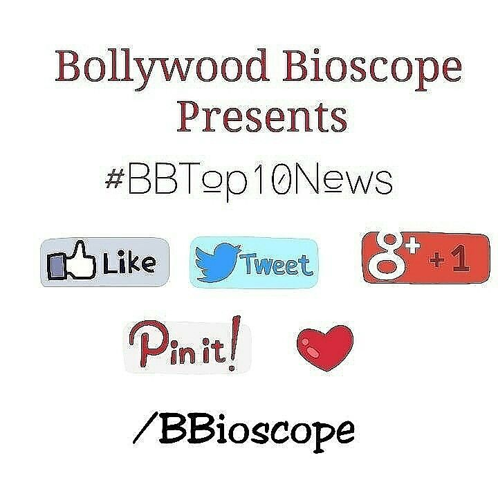 "#BBTop10News  1.Sidharth Malhotra and Katrina Kaif to come together for Ritesh Sidhwani and Farhan Akhtar's upcoming romantic film.   2.Sooraj Barjatya's 'Prem Ratan Dhan Payo' to have a song-and-dance sequence inspired from 'Hum Aapke Hain Koun'.  3.Anurag Kashyap is all set to helm an international project next year.   4.#LucknowiIshq is Adhyayan Suman and my love story!"" -  Karishma kotak talks about her upcoming film.  5.VikramBhatt is all set to direct a sequel to Akshay kumar & Shilpa…"