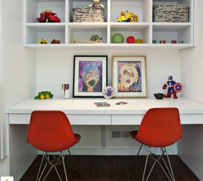 Kids Homework Room Ideas: 10 Best Kid Desk DIY Images On Pinterest