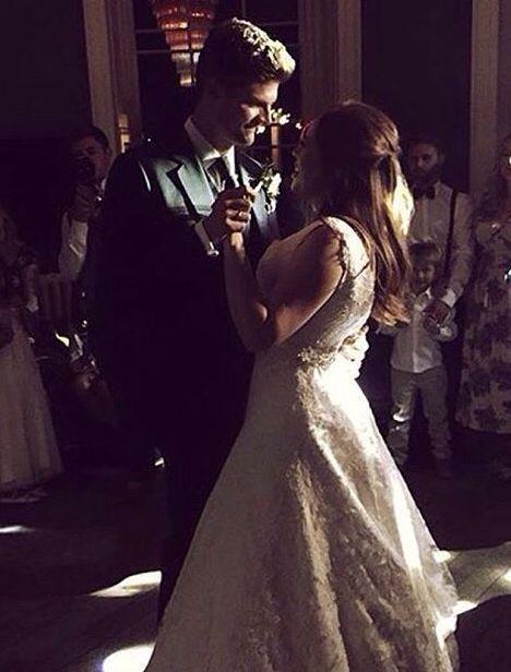 Tanya Burr & Jim Chapman wedding 09.06.15 @tanyaburrvlogs @jimachapman