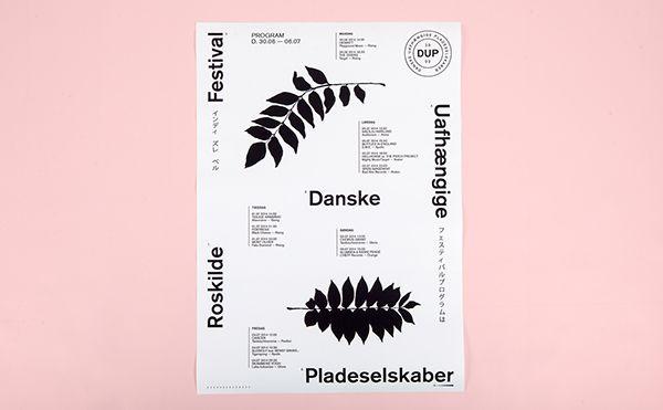 DUP RoskildeFestival on Behance