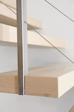 all - contemporary - staircase - montreal - Gepetto