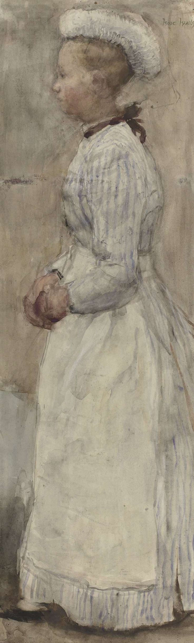 Isaac Israels, Maid - Rijksmuseum