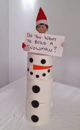 Elf On The Shelf Ideas For The First Day Back