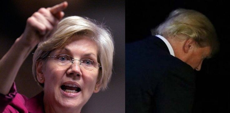 This Elizabeth Warren Takedown Of Donald Trump Is Going Viral
