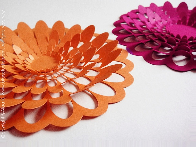 Pop Out Floral Wall Art By Alaa 39 Studio Via Flickr