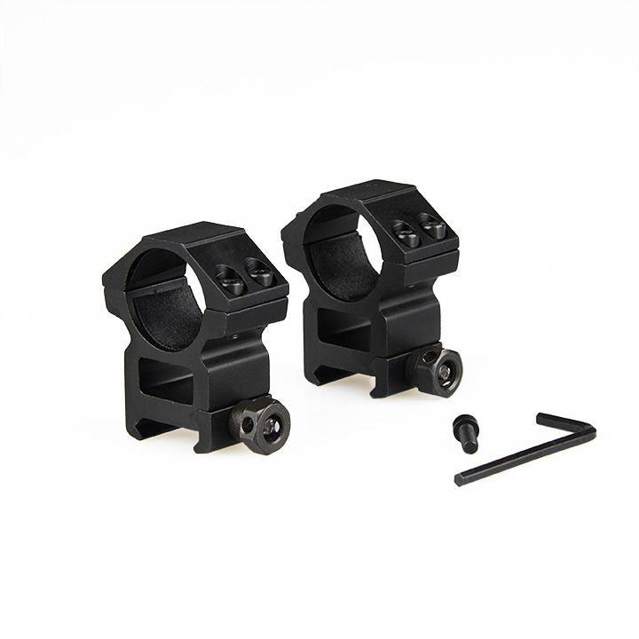 New Arrival 6061 Aluminum Tactical Scope Mount Fits on 20mm Rail for Hunting Gun CL24-0106