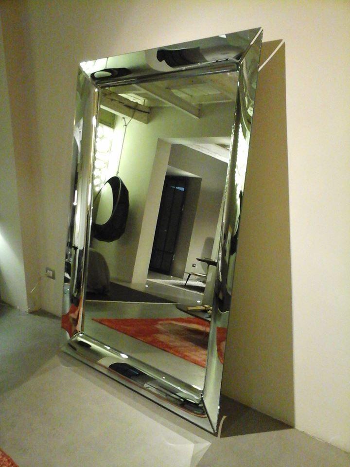 Specchio caadre design philippe starck by fiam italia stainless steel furniture pinterest - Specchio philippe starck ...