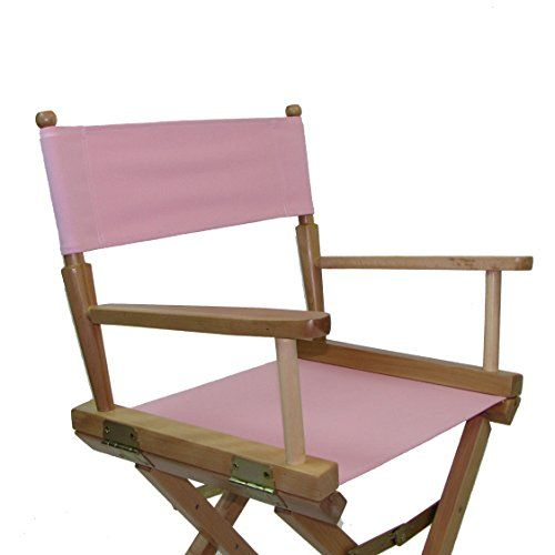 Replacement Cover Canvas for Director's Chair (Flat Stick) (Light Pink)
