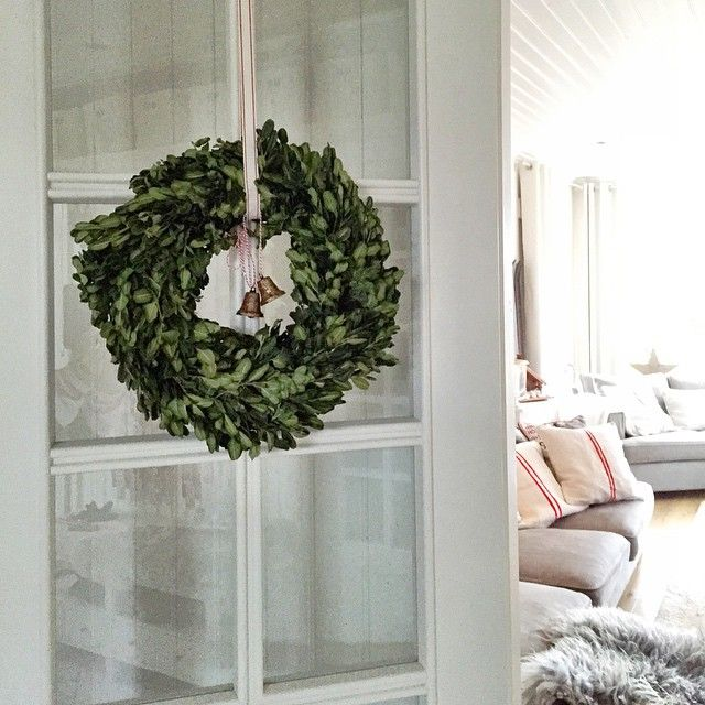 Christmas wreath ★ Julkrans ★ Scandinavian Christmas ★ Skandinavisk jul ★ Lantliv I Vitt
