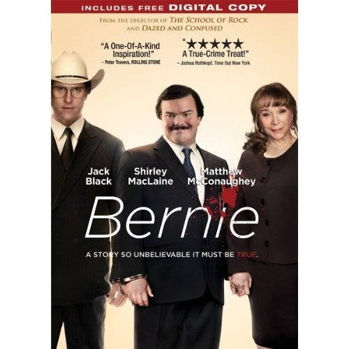 """Bernie"" starring Jack Black, Shirley MacLaine, Matthew McConaughey (2011)"