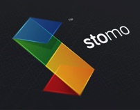 Stomo Brand Design by Modisana Hlomuka, via Behance