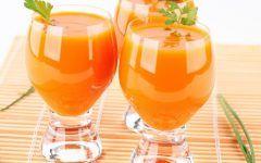 Suco Detox de Cenoura Para Saúde Digestiva