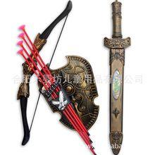 Frete grátis crianças brinquedos de esportes protetor de tiro com arco combinação arco tradicional brinquedo(China (Mainland))