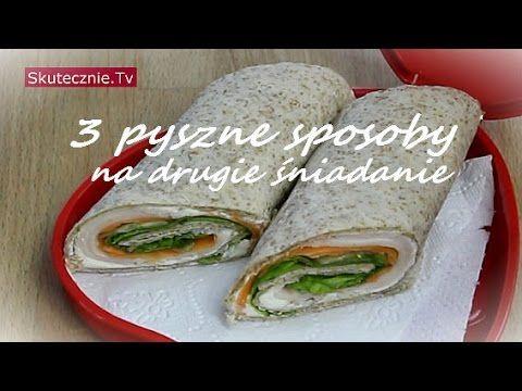 Drugie śniadania do szkoły (3 propozycje) #2 :: Skutecznie.Tv [HD] - YouTube