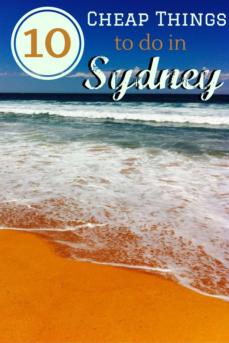 10 Cheap Things to do in Sydney, Australia