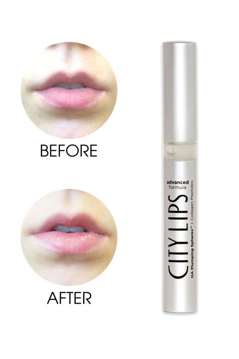 An ELLE.com editor selfie tests the 8 biggest lip plumpers on the market. See how City Lips Advanced Formula stacks up.