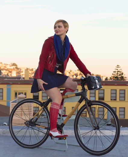 Bike Fashion Dilemma: What to wear underneath your skirt and on a bike - The Athleta Skort