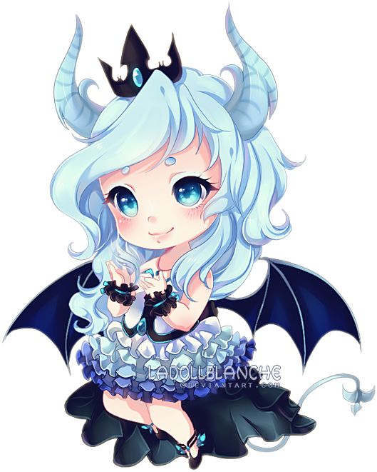 Detailed Chibi Commission for Lunadeerest Thank you! Commissions…