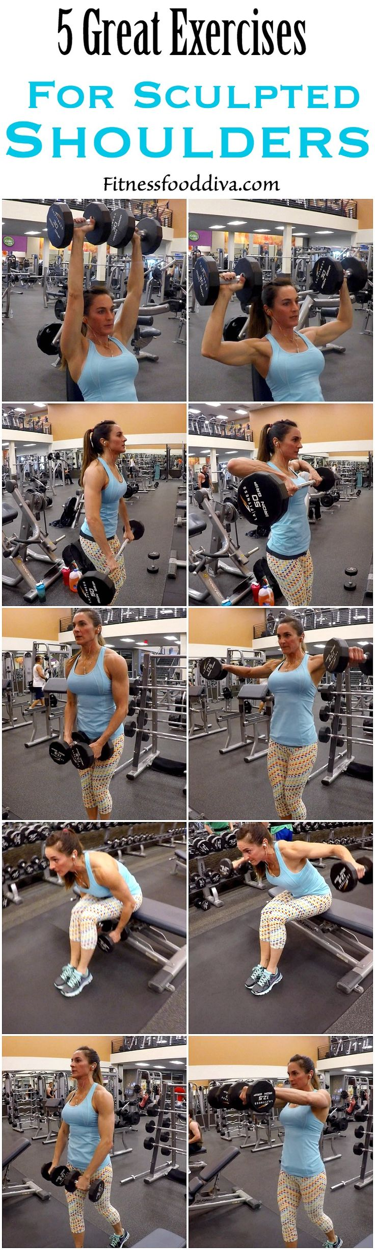 Sculpt round, sexy shoulders with 5 Exercises.