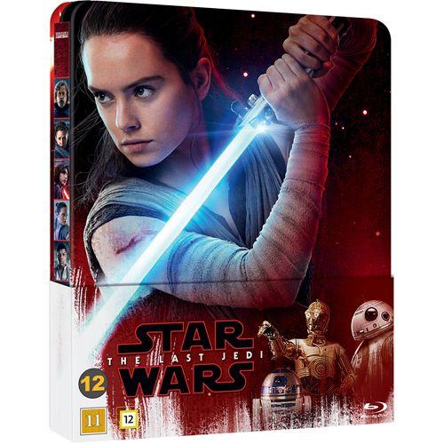 Star Wars: Episode VIII - The Last Jedi - Limited Steelbook Edition (BLU-RAY)