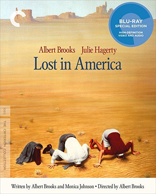 Lost in America - Blu-Ray (Criterion Region A) Release Date: July 25, 2017 (Amazon U.S.)