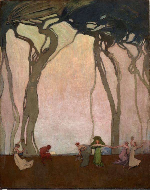 Fantasy by Sydney Long, 1916
