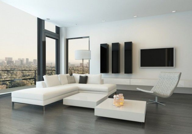 16 Sophisticated White Living Room Designs In Minimalist Style Minimalist Sofa Minimalist Living Room Minimalist Living Room Design
